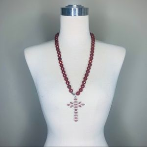 Statement Cross necklace